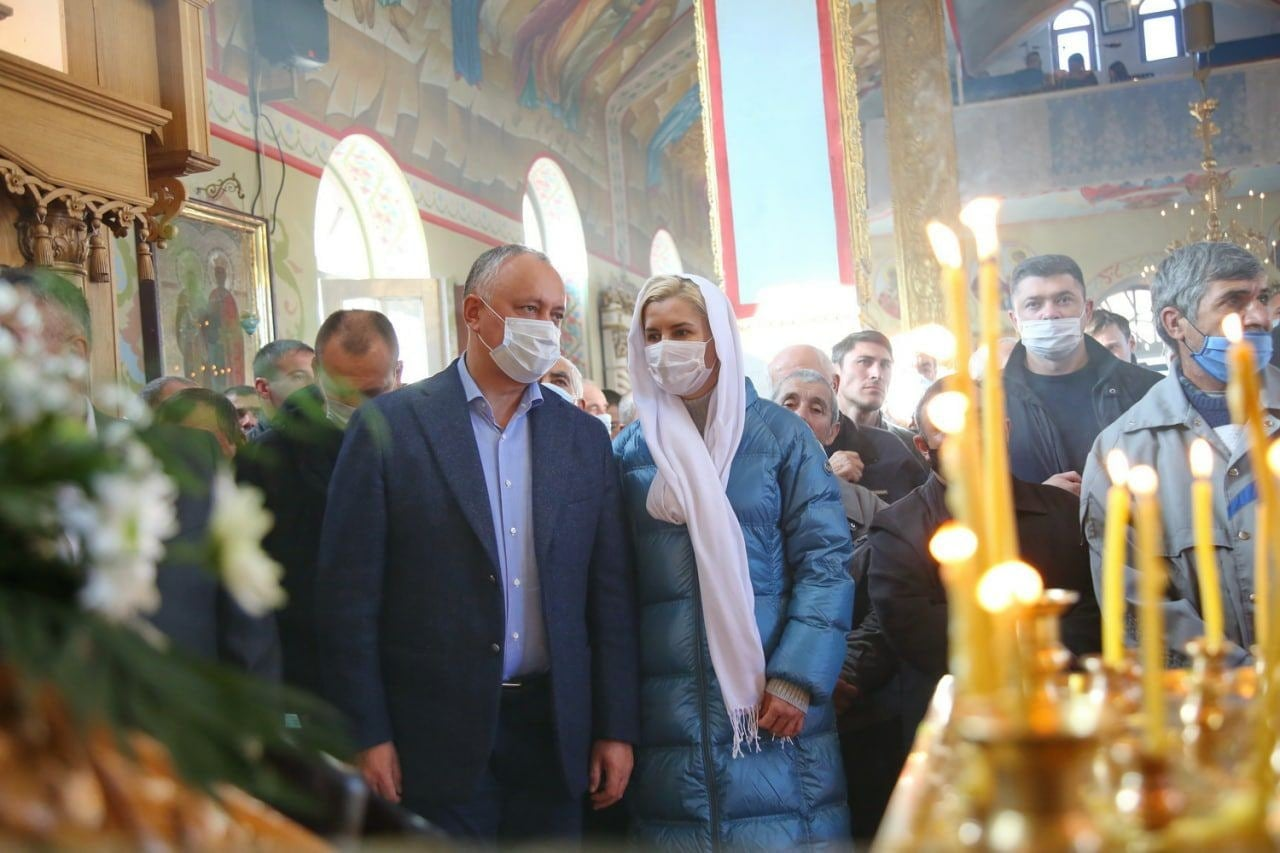 Вмонастыре Чадыр-Лунги прошла массовая литургия сучастием Додона иВлах