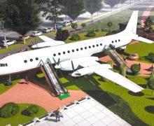 В Кишиневе появится кафе-самолет «Лайнер». Где его установят и для кого