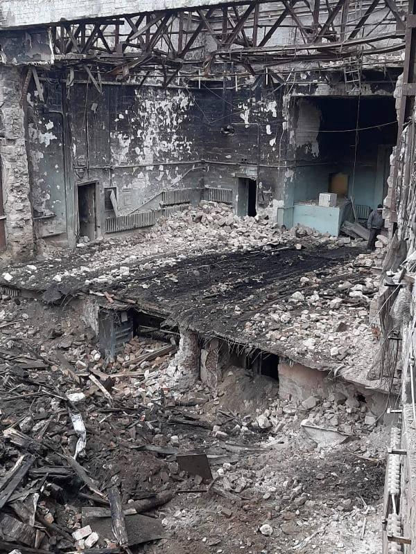 Как выглядитНациональная филармония после разбора завалов (ФОТО)