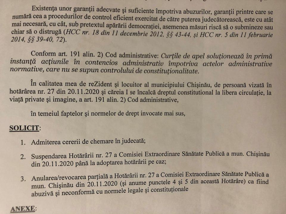 Un birou de avocați a atacat în instanță decizia privind obligativitatea purtării măștii în spațiile publice din capitală (DOC)