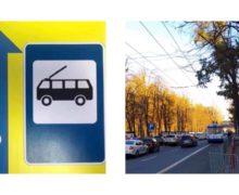 Вцентре Кишинева перенесли остановку общественного транспорта