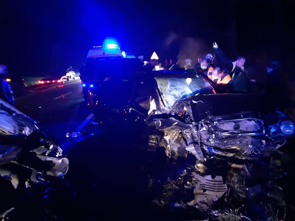 Accident grav în raionul Strășeni. Un om a murit, iar 7 au fost răniți, inclusiv 2 copii (UPDATE)
