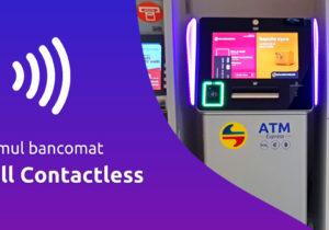 Moldindconbank a lansat primul bancomat full contactless din țară!
