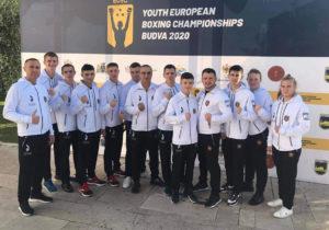 Команда изМолдовы завоевала пять медалей начемпионате Европы побоксу среди юниоров