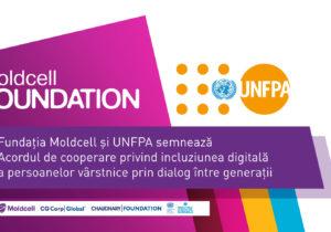 Moldcell расширяет проект «Лайк от бабушки» с помощью партнерства между Фондом ООН в области народонаселения и Фондом Moldcell