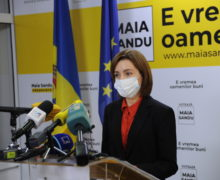 Майя Санду призвала людей выйти напротест задосрочные парламентские выборы