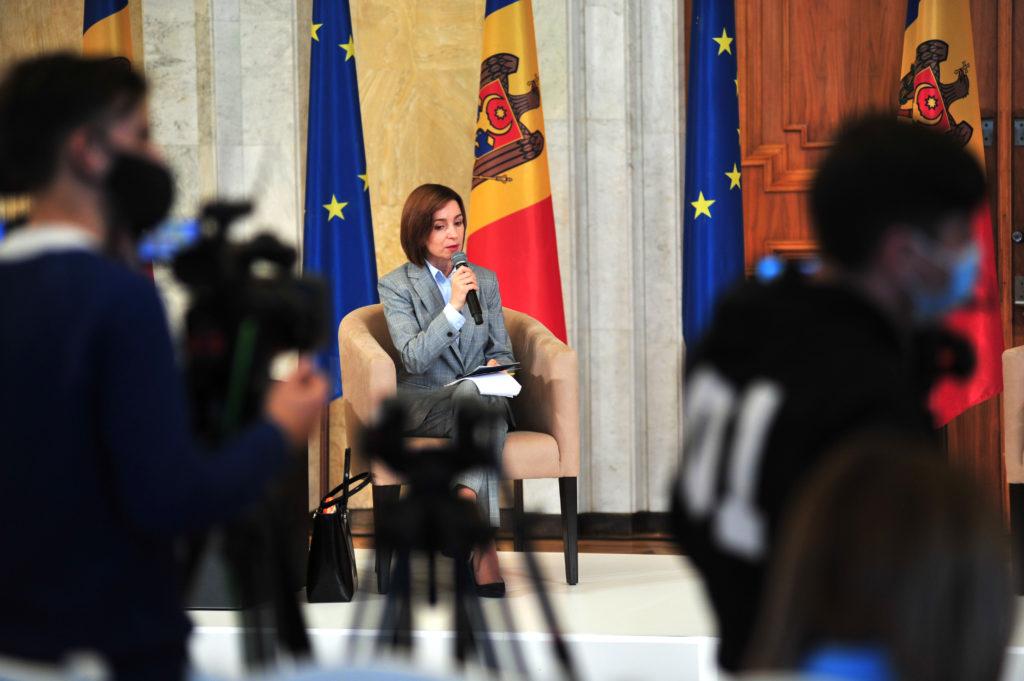 Чего хочет Майя Санду? 10главных заявлений напервой большой пресс-конференции