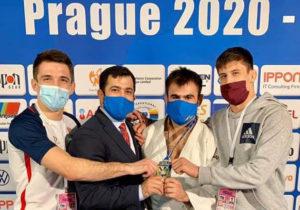Молдавский дзюдоист Виктор Стерпу стал чемпионом Европы