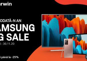 Samsung Big Sale la Darwin: 7 zile cu reduceri pentru produsele electronice Samsung