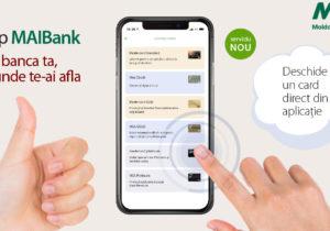 Nou de la Moldova Agroindbank: Deschide un card nou direct în telefon