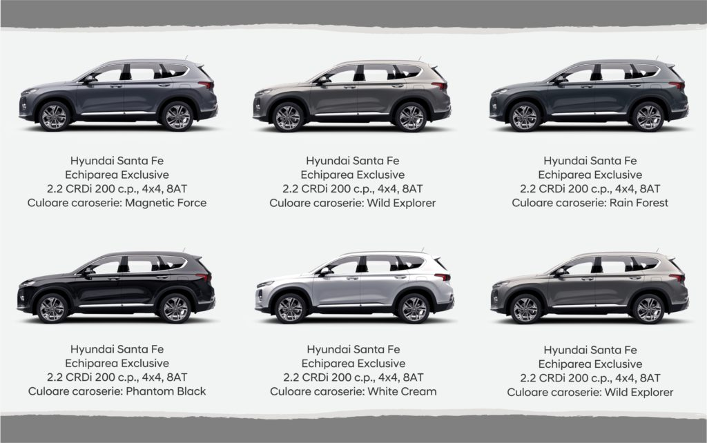 Reduceri de 3500 € la Hyundai Santa Fe în cea mai Albă zi de Joi a anului! Vă invităm să treceți de partea luminii!