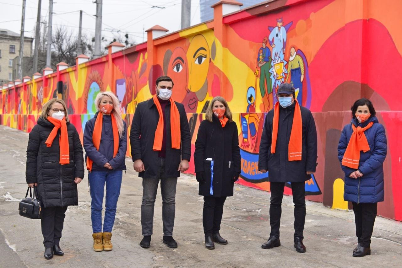 Împotriva Violenței în Bază de Gen. În Chișinău a mai apărut un perete cu pictură murală