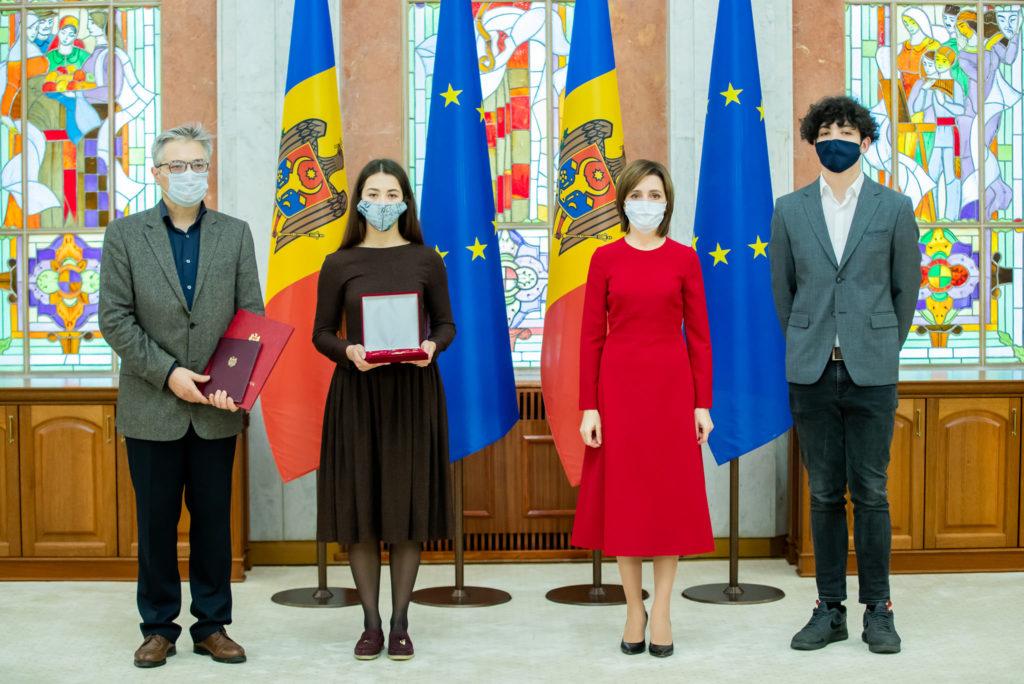 Actorul Vlad Ciobanu, apreciat post-mortem cu Ordinul Republicii, de către Maia Sandu (FOTO)