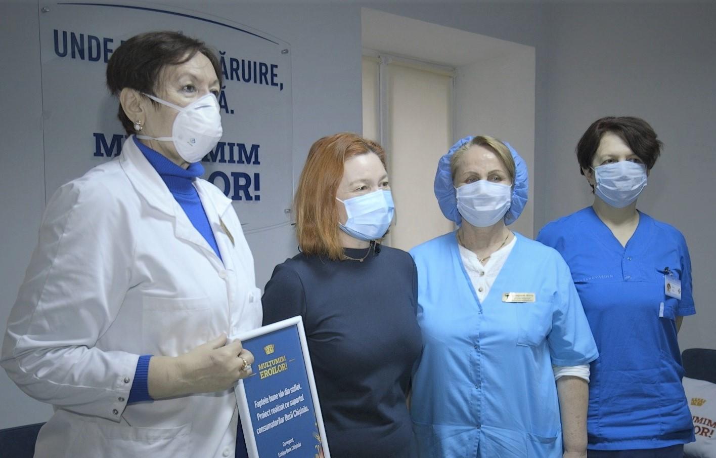 """Proiectul Chișinău """"Mulțumim Eroilor!"""" aduce camere moderne de odihnă în spitale"""