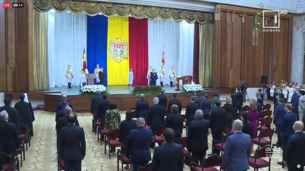 Învestirea Maiei Sandu în funcția de președintă a țării. Online NM