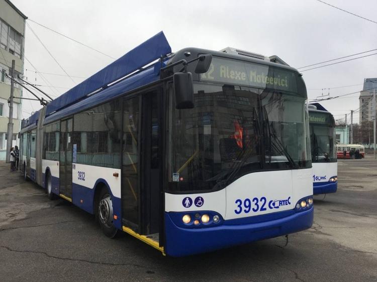 В Кишиневе 31 декабря начнут ходить 15 новых троллейбусов (ВИДЕО)