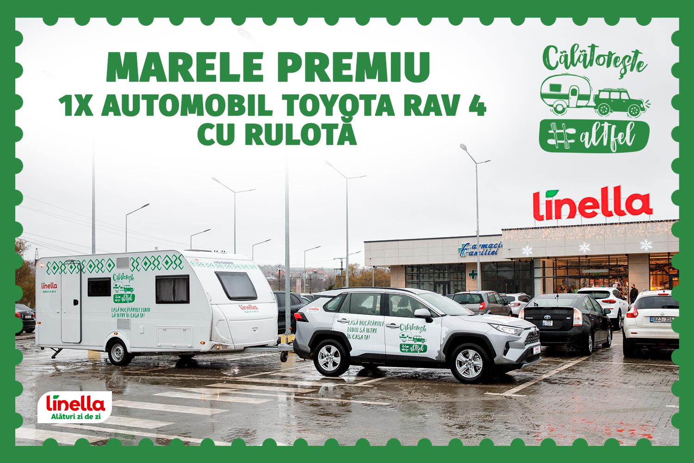 LINELLA начала обратный отсчет до большого розыгрыша Toyota RAV 4 с трейлером
