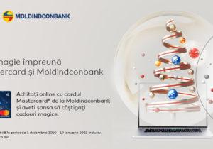 Creează magie cu Mastercard şi Moldindconbank și câștigă un Apple MacBook AIR