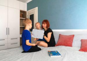 Moldindconbank: Familia Mihail s-a mutat la casă nouă datorită unui credit imobiliar