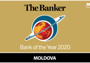 "Moldova Agroindbank – ""Banca Anului"" 2020 în Republica Moldova potrivit The Banker"