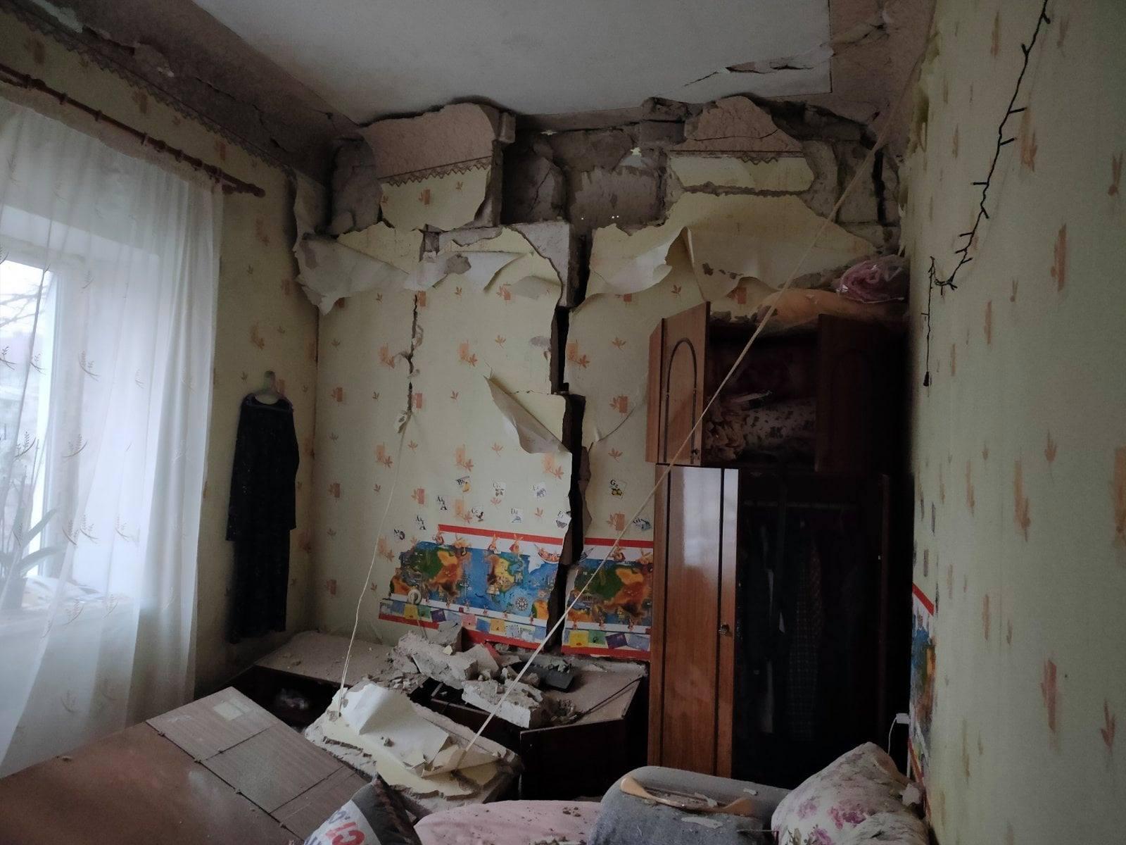 Explozie într-un apartament din centrul capitalei. Un bărbat a ajuns la spital (FOTO)