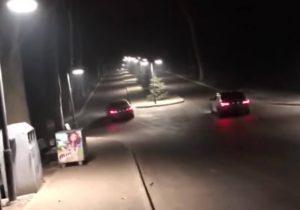 Curse auto pe aleile pietonale din parcul Valea Trandafirilor din Chişinău. Șoferii vor fi pedepsiți?