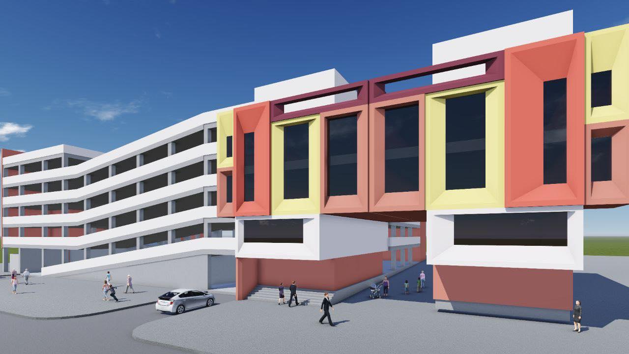 На территории Центрального рынка Кишинева возведут трехэтажную парковку