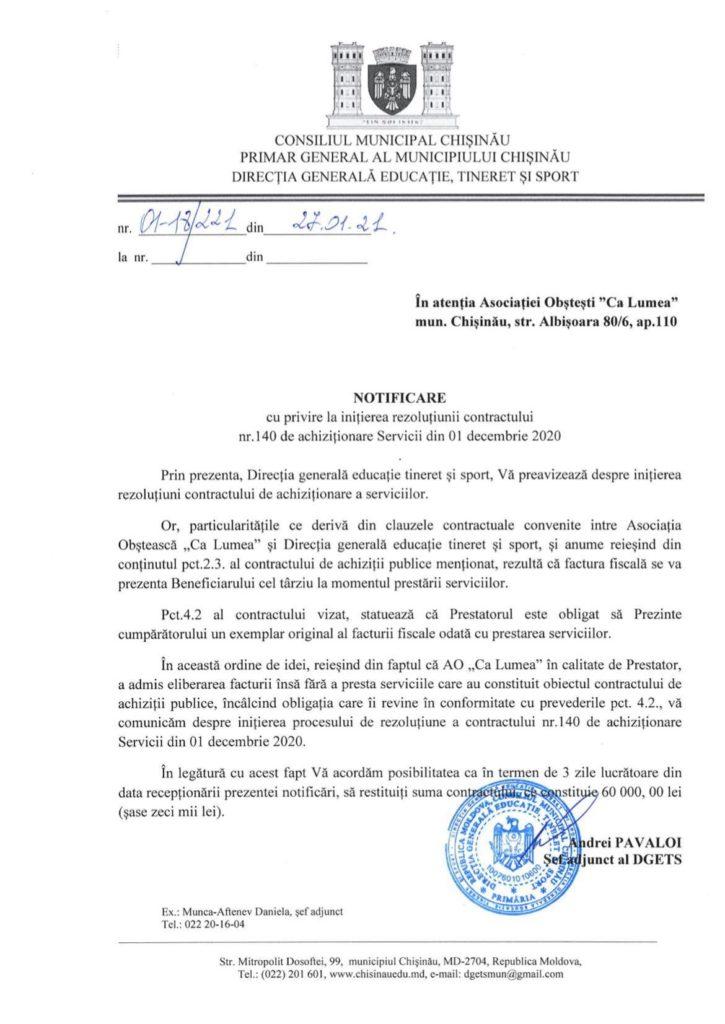 Ион Чебан vs Ната Албот. Как скандал в Facebook закончился разрывом контракта с мэрией Кишинева