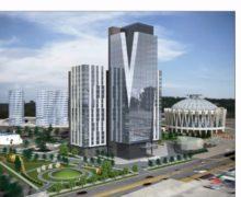 ВКишиневе одобрили строительство 21-этажного комплекса между Цирком ицерковью Константина иЕлены