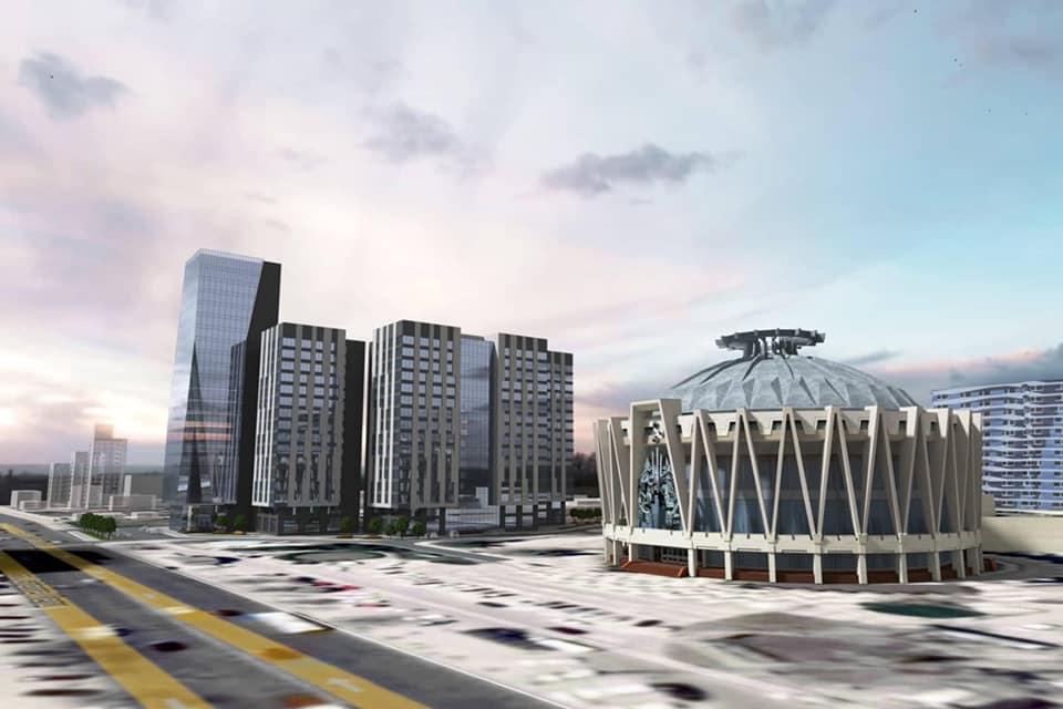 În regiunea Circului va fi construit un centru de business de 21 de etaje și patru blocuri de locuit