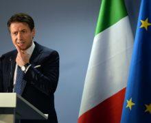 Премьер-министр Италии подал вотставку