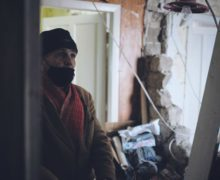 Еуджену Гынжу, квартира которого пострадала из-за взрыва газа, предлагают поселиться в центре для бездомных