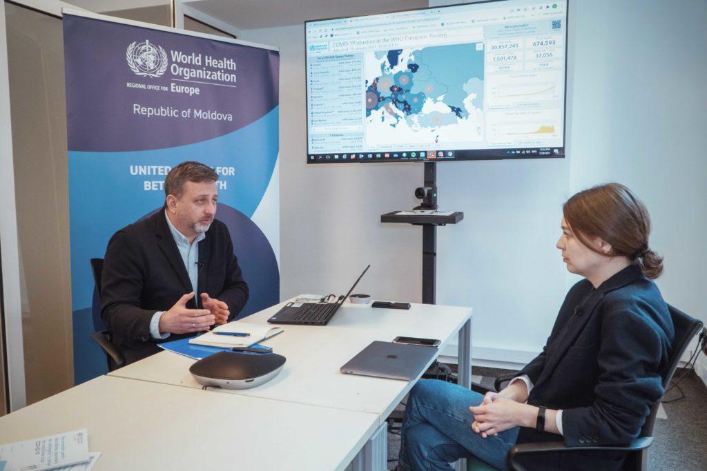 Pfizer или Спутник, вакцинация и жесткий карантин. Большое интервью NM с главой ВОЗ в Молдове