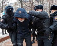 ВРоссии на акциях протеста задержали более 3тыс. человек