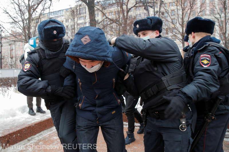 Demonstraţii pro-Navalnîi în Rusia. Poliţia a arestat peste 3000 de persoane (VIDEO)