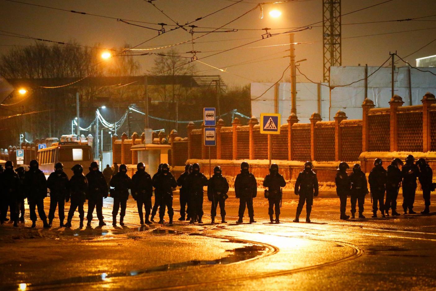 Акции вподдержку Навального вРоссии. Главное