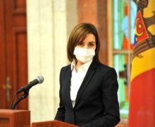 «Они знают, кто толкнул Молдову впропасть». Санду овстречах сруководством ЕС