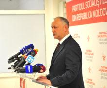 Додон оскандале сГоловатюком: «Это была разыгранная спецоперация нынешней власти»