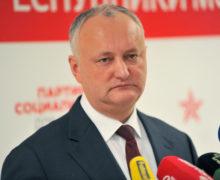 Додон: «Большинство судейКС своим решением узурпировало высший суд Молдовы»