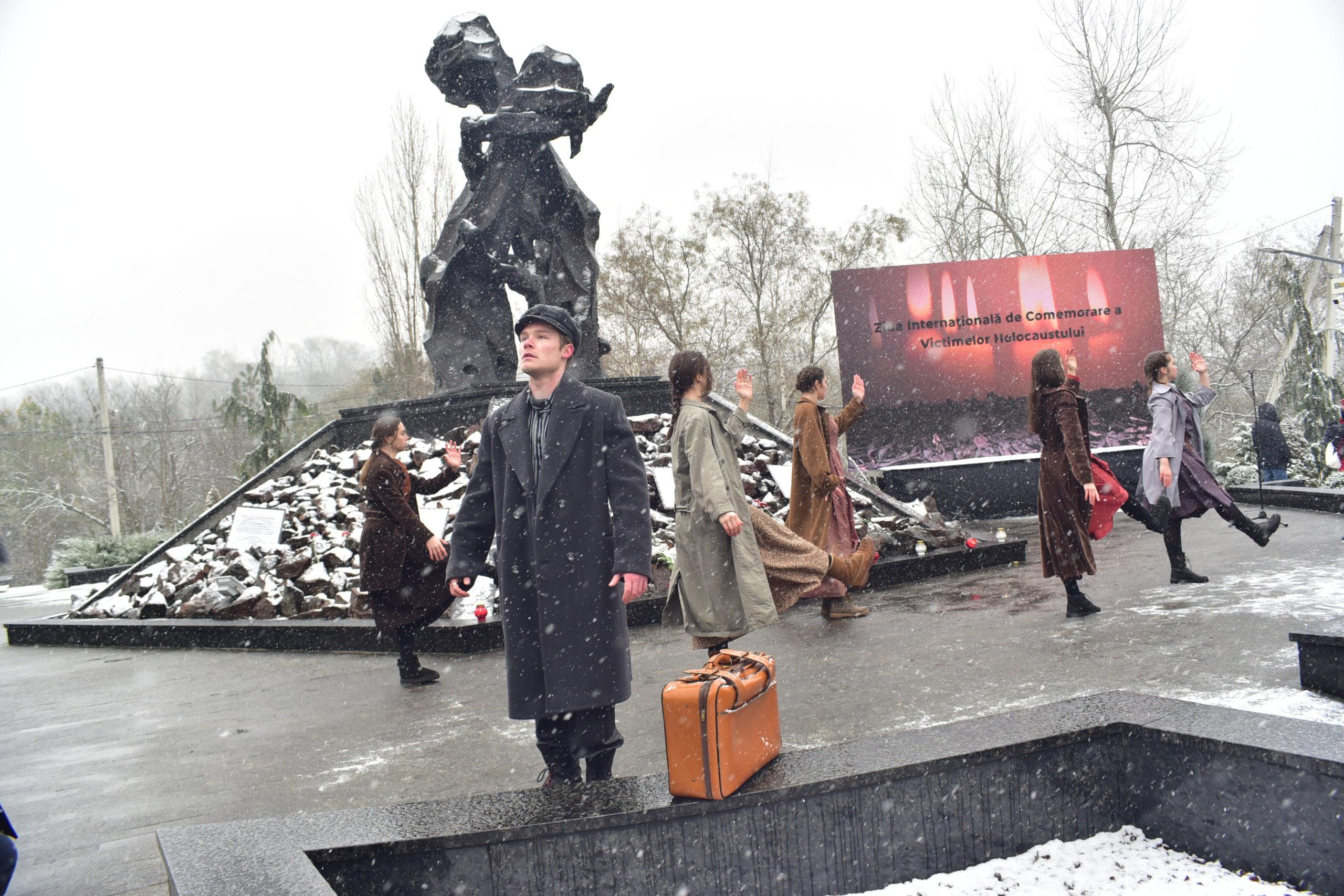 Как в Кишиневе прошел митинг-реквием в память о погибших во время Холокоста (ФОТО NM)