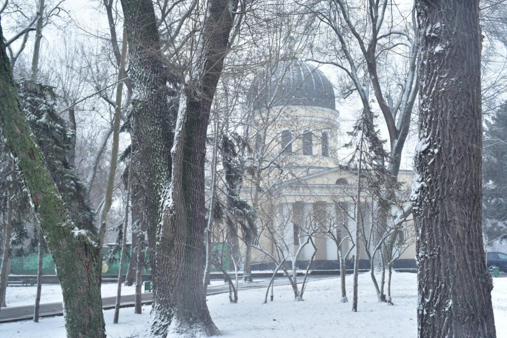 Снег вКишиневе. Фоторепортаж NM