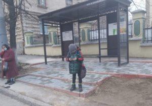 Жители Кишинева довольны новыми остановками общественного транспорта