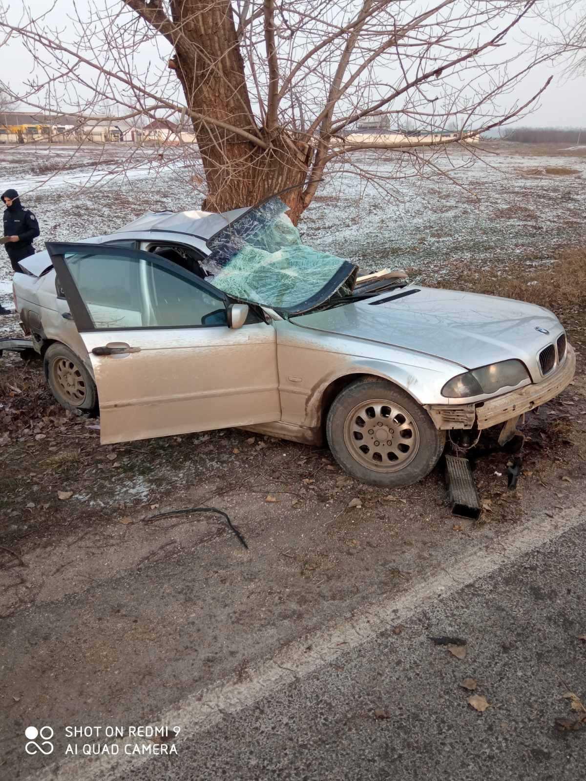 ВСынжерейском районе произошла авария. Один человек погиб (ФОТО)