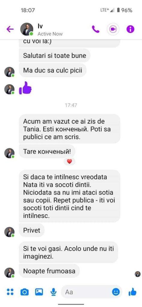 """Ceban cere audit asupra banilor transferați Natei Albot. Anterior, a promis că """"îi va socoti dinții"""" lui Bolocan"""