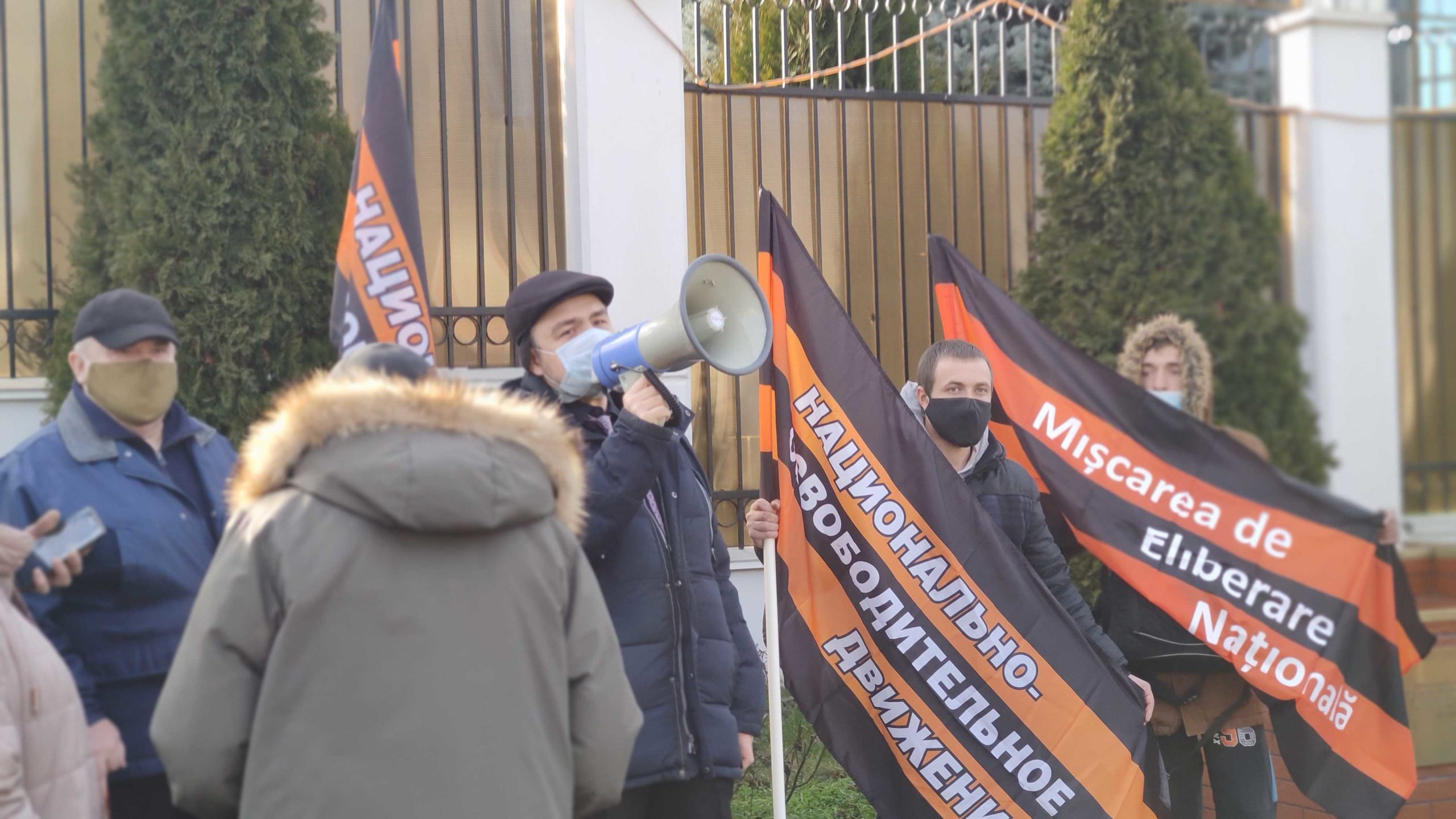 La Chișinău s-au desfășurat un miting în sprijinul lui Navalnîi și al lui Putin (VIDEO)