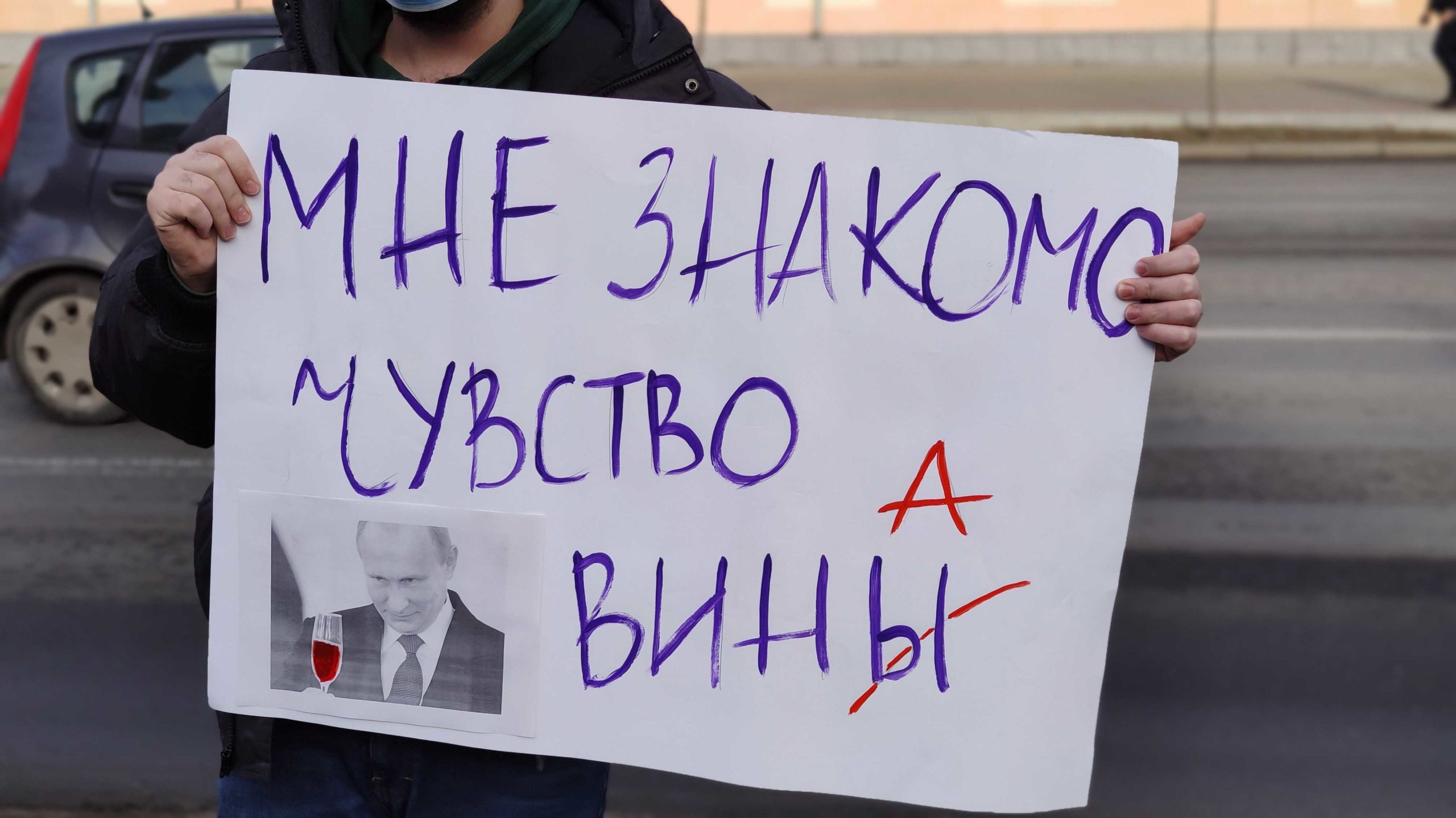ВКишиневе проходят митинги заНавального иПутина (ВИДЕО)
