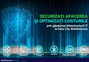 Securizați afacerea și optimizați costurile prin găzduirea infrastructurii IT la Data City Moldtelecom