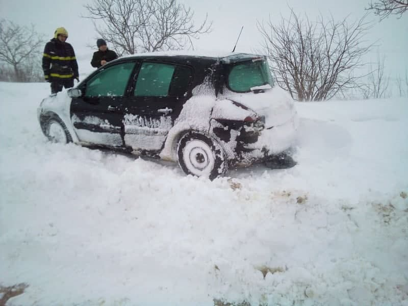 IGSU: Peste 200 de mașini au rămas blocate în Ștefan Vodă, UTA Găgăuzia, Cahul, Taraclia și Orhei (VIDEO)