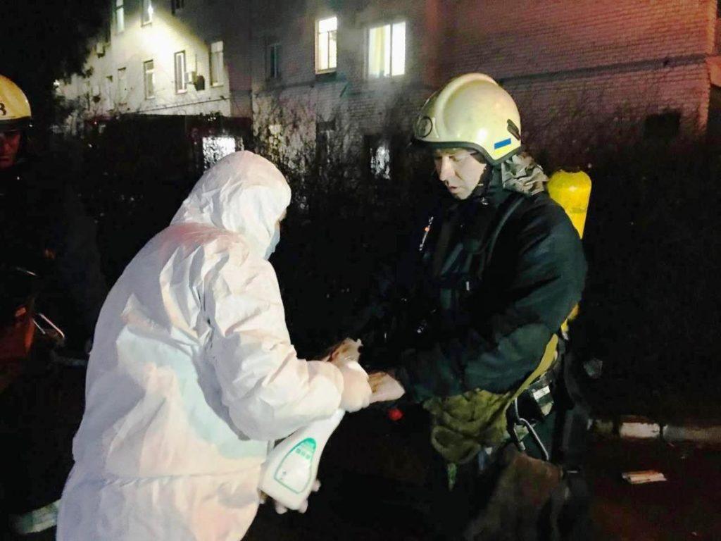 Incendiu într-un spital din Ucraina, unde erau tratați pacienți cu COVID. Printre morți este și un medic (FOTO)