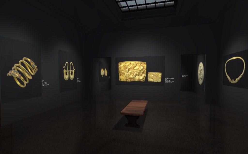 В сети открылась VR-выставка античных украшений из коллекции Национального исторического музея